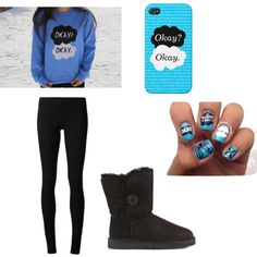 tfios by volleyballplayer2015-16 on Polyvore featuring polyvore fashion style The Row UGG Australia