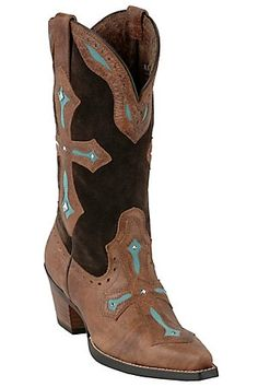 Ariat! my wedding boots :)