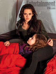 "Twilight, Kristen Stewart: Having an actress like Foy, who (rather spookily) resembles both Stewart and Pattinson, didn't hurt either. ""Even our hands look similar,"" Stewart says. ""It  was kind of strange. But it's funny how it actually helps. It's like, 'Oh, hey, you look like me, kid! Come on!'"""