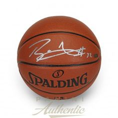 BLAKE GRIFFIN Autographed In Silver Spalding Replica Basketball PANINI - Game Day Legends
