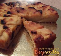 Tarta de manzana | BEGORECETAS -RECETAS CON OLLAS GM Y COCINA TRADICIONAL