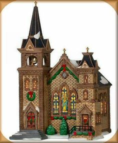St. Mary's Church NEW Department Dept. 56 Christmas In The City Village CIC DV