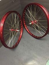NOS *REPLICA* Anodized Red Araya 20x1.75 Rims BMX Gt Redline Hutch Se Mongoose