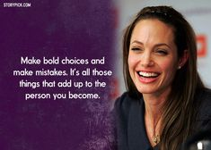 15 Quotes By Angelina Jolie That Define The Badass Alpha Woman We Can't Help But Admire Quotes By Famous People, Famous Quotes, Best Quotes, Empowering Women Quotes, Strong Women Quotes, Wisdom Quotes, Quotes To Live By, Qoutes, Truth Quotes