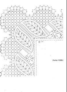 Bobbin Lace Patterns, Weaving Patterns, Crochet Stitches, Embroidery Stitches, Doily Art, Bobbin Lacemaking, Lace Painting, Needle Lace, Lace Making