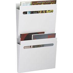 Wall-mounted file holder | CB2