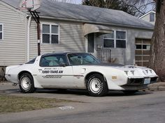 Pontiac Trans Am Indy 500 Pace Car