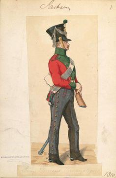 Saxony; Cheveau Legeres Prinz Clemens Regt, 1810