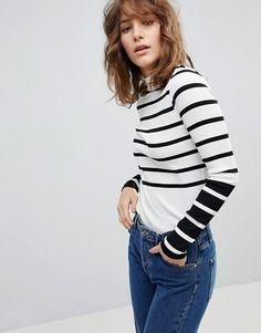 Bold stripe t4 shirt