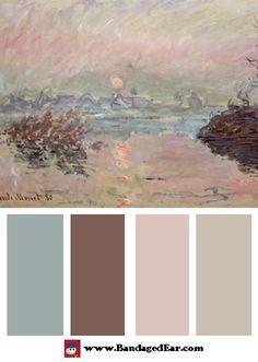 Sunset Color Palettes « BandagedEar.com Blog