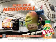 Pub Oasis 2013 : les régions de France