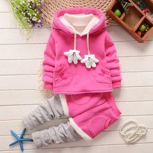 2015 primavera y otoño nueva muchacha de los niños 2 unid establece falda traje Minnie Mouse sistemas del bebé pantalones falda de los niños YJ0371(China (Mainland))