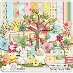 This kit is proof-positive that Jady Day Studio is THE BOMB!  Her designs are so inviting, so colorful, so beautiful!  I love the tree in this kit, too.  Jady Day Studio is a force of design nature!  This is on the top of my wish list!