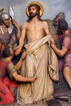 Stations of the Cross - Franciscan Friars of the Atonement Cross Pictures, Jesus Pictures, Catholic Religion, Catholic Art, Catholic Prayers, Religious Paintings, Religious Art, Mary Magdalene And Jesus, Benfica Wallpaper