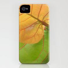 Sea Grape Leaves iPhone Case by Rosie Brown - $35.00