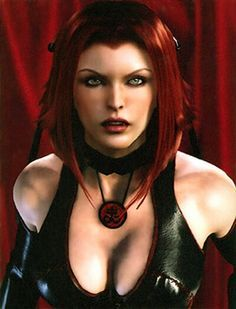 Bloodrayne.... Still obsessed with this hairstyle