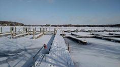 Happy Monday! The lake is freezing already! Photo courtesy of Chuck Keiser