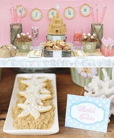 Una preciosa mesa para una fiesta playa o fiesta verano / An amazing table for a beach or summer party