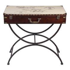 Belle Jardiniere Trunk Console Table