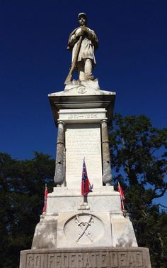 CSA SOLDIERS CEMETERY AT VICKSBURG, MS (Cedar Hill Cemetery) Confederate Statues, Confederate Monuments, Confederate Flag, Southern Heritage, Southern Pride, Southern Style, American Civil War, American History, Cedar Hill Cemetery