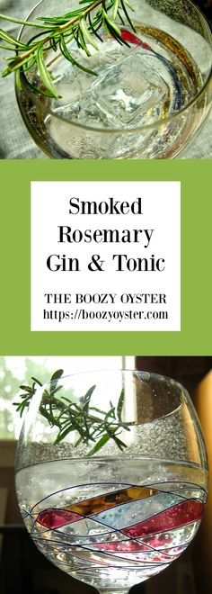 This gin and tonic is the perfect transitional cocktail between summer and fall. It's clean and bright, with just a hint of smokiness from the rosemary.