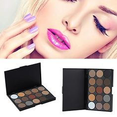 Eye ShadowBeyoung Professional Concealer Neutral Palette 15 Charming Colors Matte Pigment Eyeshadow Palette Makeup Tools  Scar Cream Face Camouflage Body Foundation Cosmetic Makeup Eye Shadow * Want additional info? Click on the image.