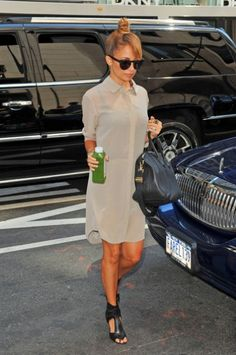 Love the look and Nicole Richie too