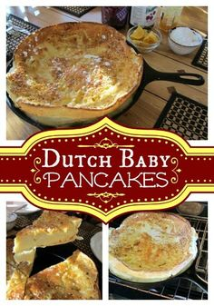 Bring this spectacular German Pancakes or Dutch Baby Pancakes breakfast or…