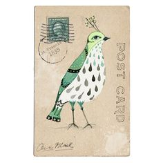 Ornithological Studies (2 of 2). By Lily Moon on etsy. $18 #psychopomps