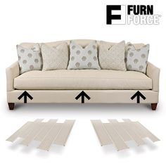The Furn Force sofa savers consist of 6 resistant and lightweight plastic boards of x 48 cm each. With Furn Force you can give your sofas or armchairs greater stability and firmness. Simply put the Furn Force sofa savers together adapting the. Rattan Furniture, Home Furniture, Furniture Design, Living Room Sofa, Sofa Set, Home Renovation, Decoration, Outdoor Sofa, Seat Cushions