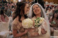 "Leighton Meester as Blair Waldorf and Zuzanna Szadkowski as Dorota Kishlovsky ""The Unblairable Lightness of Being"""