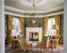 Изысканный стиль Рококо в интерьере | Старинный дизайн домов