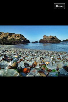 Glass beach,CA