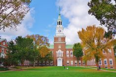 New Hampshire: HanoverHome to the prestigious Ivy League Dartmouth College (pictured), Hanover is one of the nation's oldest towns. Head to Main Street for New England architecture, individual boutiques, art galleries and restaurants. The town is also located along the Connecticut River, where you can enjoy kayaking and canoeing or take a walk across the pretty Ledyard Bridge.
