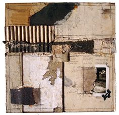 Crystal Neubauer Collage - Round the Mulberry Bush, 2013, Collage Mixed Media Mixed Media - Salvaged, 10 x 10