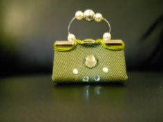Miniature Purse. $9.00, via Etsy.