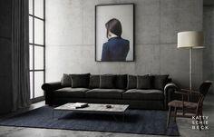 apartment in gracia, barcelona/katty schiebeck interiors  via: somewhereiwouldliketolive