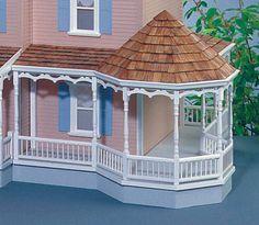 """Gazebo 11"""" Wraparound Porch Kit (Right Side Only)"""