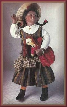Lucinda by Mary Van Osdell, 24 Size, Child Series