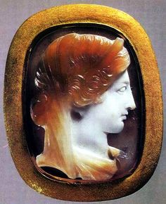 1 AD Roman, Cameo of Hera