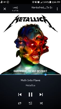 Addicted to the...FAME! #MyLifeAsARockstar #SoundsOfMyNow》《Moth Into Flame by Metallica