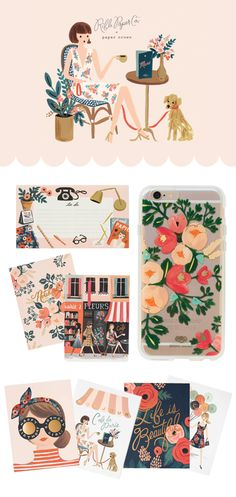 Rifle Paper Co Paper Crown - Im in love with this whole line