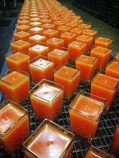 Valencia Orange candles by Aromatique are rolling out in time for the holidays!
