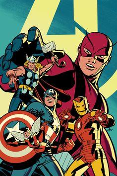 Avengers Comics, Archie Comics, Marvel Art, Marvel Heroes, Heroes Peter, Marvel Masterworks, Comic Art, Comic Books, Arte Nerd