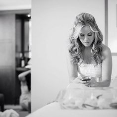 #bride #beauty #behindthescenes #photography #weddingday #wedding #hair #curls #blackandwhite #bridalhair #bangstyle #hairtalk #makeup and #hair by me @ssingermakeup photography by @w_innes