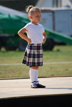 primary Highland Dancer