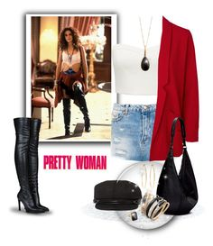 """""""Pretty Woman Inspired"""" by leanne-mcclean ❤ liked on Polyvore featuring Pull&Bear, Brooks Brothers, Tripp, Forever New, Vero Moda, San Diego Hat Co., STELLA McCARTNEY, The Row, Bar III and Ringly"""