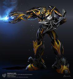"Bumblebee Transformer Giant 18"" x 24"" poster"