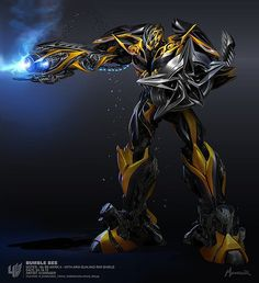 "Bumblebee Transformer Giant 18"" x 24"" poster"