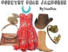 Country Bear Jamboree. WDW. What to wear at WDW. WDW outfits. WDW Polyvore. WDW fashion. Disney style. Disney clothes.